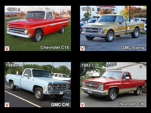 Chevrolet C/K - car review, history of creation, specifications