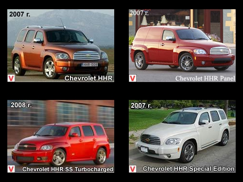 Chevrolet Hhr Car Review History Of Creation Specifications