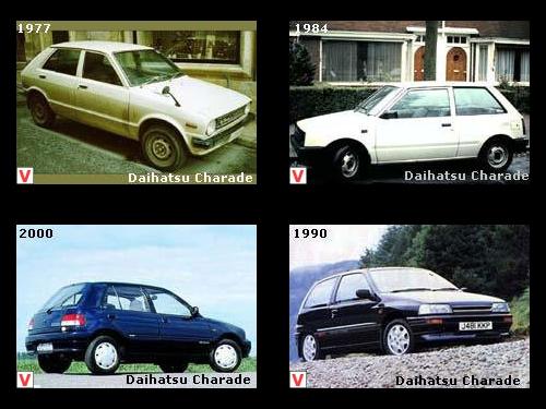 Daihatsu Charade - car review, history of creation