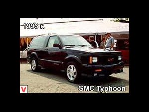 Photo GMC Typhoon