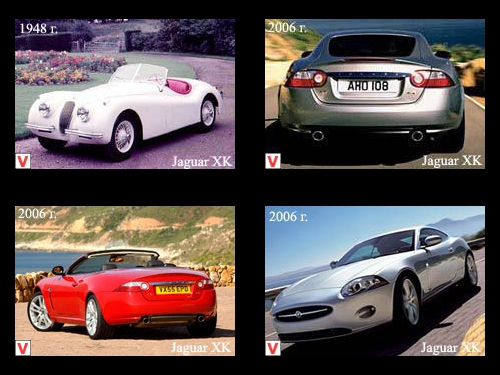 Jaguar XK - car review, history of creation, specifications