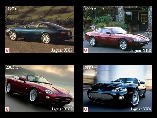 Jaguar XK8 - car review, history of creation, specifications
