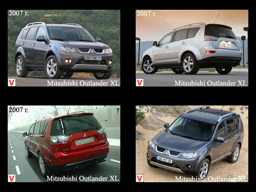 Mitsubishi Outlander XL - car review, history of creation